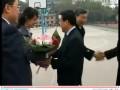 三一集团董事长来华中科技大学访问