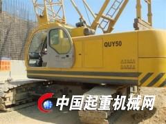 黑龙江50吨履带吊出租