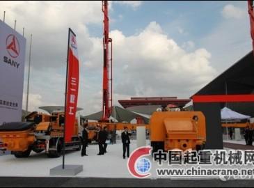 三一重工千余平展台亮相CE China 2011