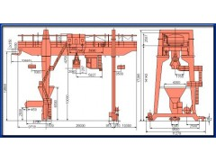 MZ型5-10吨双梁抓斗门式起重机