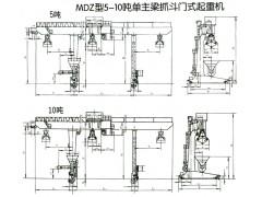 MDZ型5-10单主梁抓斗门式起重机