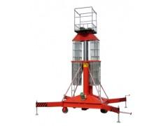 供應套缸式升降機,結構緊湊、重量輕、移動方便