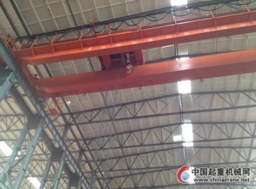 绵阳市特检院完成中国燃气涡轮研究院3台起重机安装验收工作