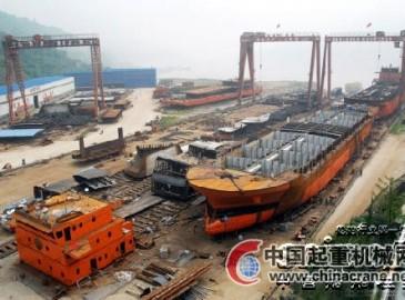 未来3年内涪陵将建成长江上游最大特种船舶制造基地