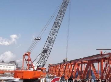 安徽電建二公司承建銅陵有色熱電項目首個起重機械安裝節點項目圓滿完成