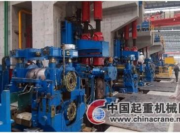 河北敬業軋鋼七車間年產80萬噸棒材軋鋼工程提前投產
