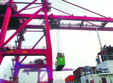 南通港成為江蘇第2個突破2億元港口 港口生產較快增長