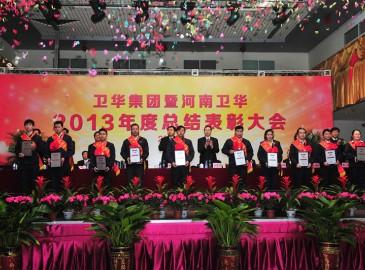 卫华集团2013年度总结表彰大会隆重召开
