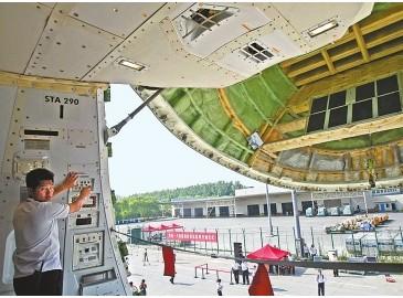 """""""郑州-卢森堡""""国际货运航线开通 国际物流中心规划成现实"""