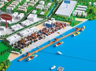 占地面积943亩江门高新区公共码头项目正式开建