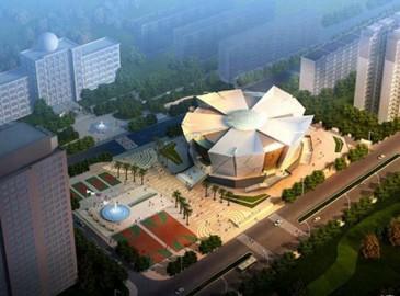 重庆耗资8000万打造形似巨大风扇体育馆