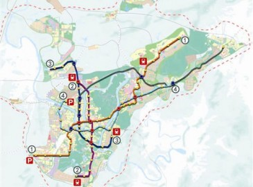 柳州规划将开建贯穿全市4条城市轨道交通