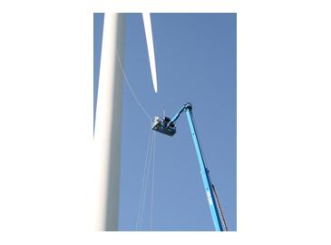 吉尼高空作业平台的应用新领域—安装维护风力发电机