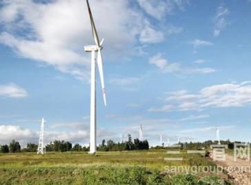 三一首台风机机组在埃塞俄比亚阿达玛二期并网发电