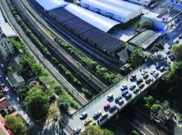 长沙市劳动路跨京广铁路桥启动原址重建