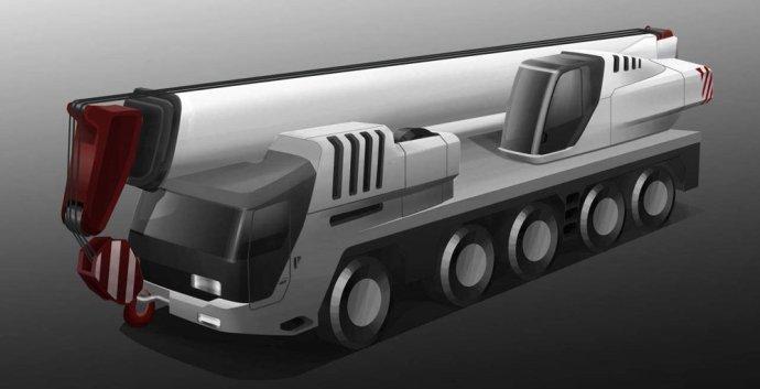 未来吊车——起重机概念设计