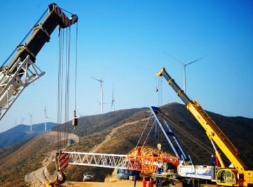 江西首座高山风电项目屏山风电场于今年底完工