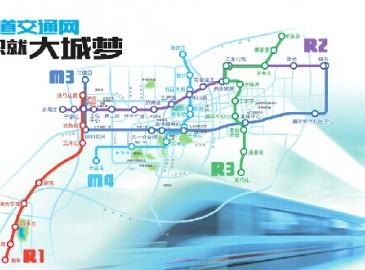 济南轨道交通网织就大城梦 四纵五横9条线路渐清晰