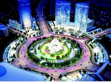 中国铁建开建亚洲最大市政交通综合体工程