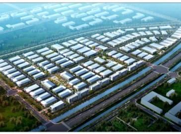 东营石油科技产业园启动区27栋工业厂房主体全部完工 招商引资工作已启动