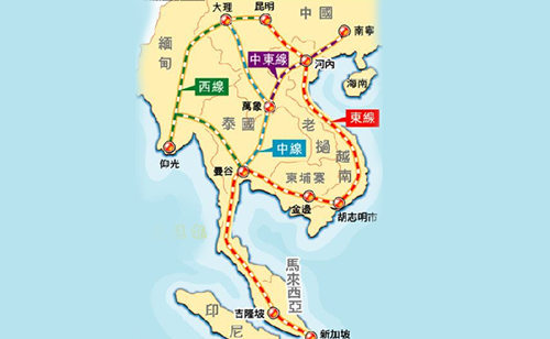 也是中国在中南半岛修建的第一条标准规铁路