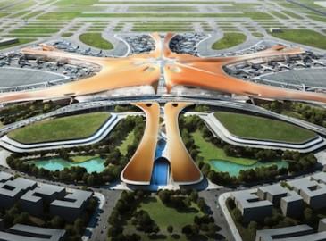 北京新机场设计方案公布 俯瞰像海星