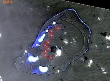 """南沙渚碧礁疑似""""填海造岛""""出现8个新增陆地(图)"""