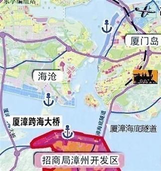 厦漳海底隧道有望年底开工建设