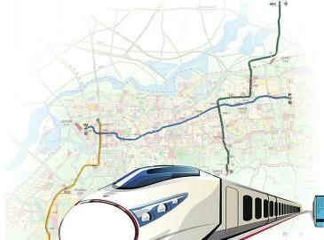 """济南轨道交通特色规划:两纵一横 """"H""""形构架 R1线年内动工"""