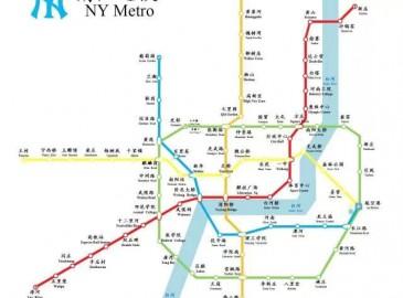 南陽建地鐵 13條線路規劃圖出爐