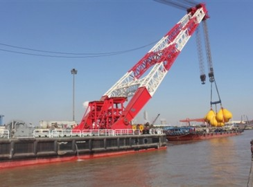 國內首創新型起重船實現蘇州造