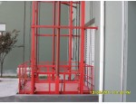 合肥起重机导轨式液压升降货梯
