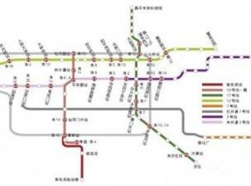 北京年内开工6条地铁线 全部站点待公布