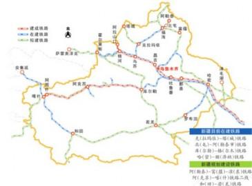 新疆阿勒泰至富蕴至准东铁路10月开建