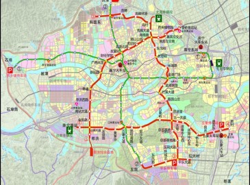 南宁市城市轨道交通近期建设规划(2015~2021年)获批