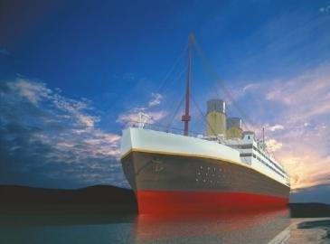 四川10亿新建泰坦尼克 正进行船体组装