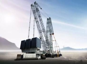 中联重科第二台3200吨履带式起重机中标桃花江核电项目
