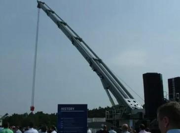 多田野首創新型三臂架伸縮臂全地面起重機