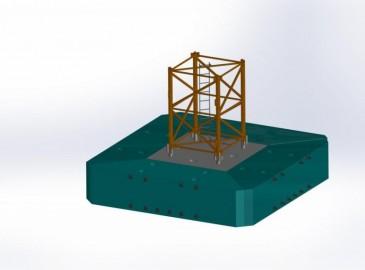 方圆集团成功推出预制分体式塔机基础