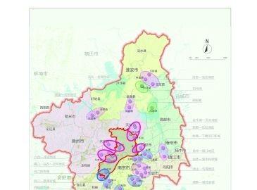 南京规划34条通道连接江北新区及周边地区