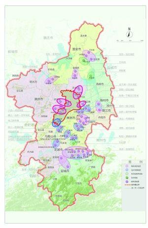 南京规划34条通道连接江北新区及周边地区图片