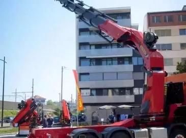 帕尔菲格发布新款125吨·米 32吨能级随车吊