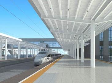 新建商合杭铁路10月28个车站全线开工