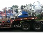 双梁起重机供应自走式高空作业车