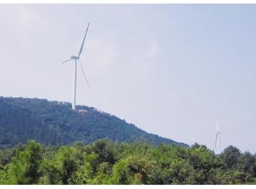 马鞍山诗城首个风电项目9月底将完成安装
