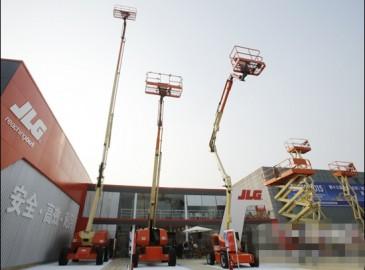 JLG(捷尔杰)深耕中国 献礼BICES 2015高空作业迎来安全时代