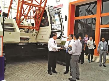 中聯重科起重機等7臺產品再銷印尼