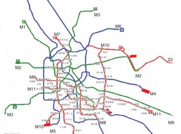 天津城市軌道交通第二期建設規劃通過 新增七條線路