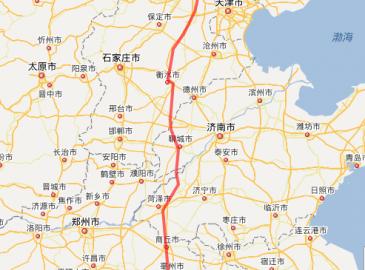 京九高铁整个走向基本确定 跨越河南等地时速350公里