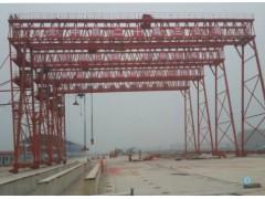 为中铁二十局四公司转场的四台50吨跨40高16 门机